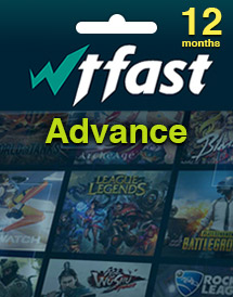wtfast advance - 12 months time code