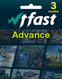 wtfast advance - 3 months time code