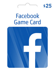 facebook game card global