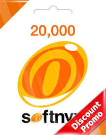 softnyx 20,000 cash global discount promo