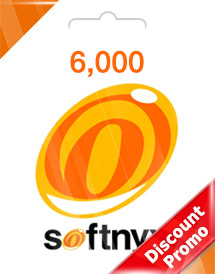 softnyx 6,000 cash global discount promo