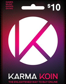 $10 karma koin card global