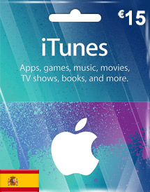 eur15 itunes gift card
