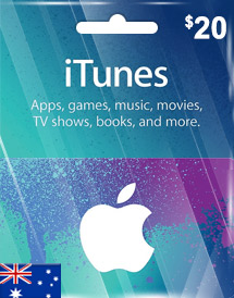 aud20 itunes gift card