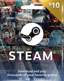 steam wallet codes global