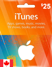 Buy iTunes Gift Card (CA) Cheap | Best Deals On Games
