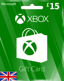 gbp15 xbox live gift card uk