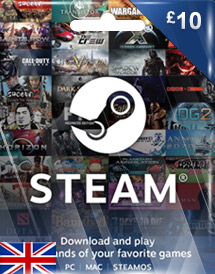 steam wallet code gbp10 uk