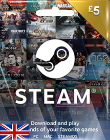 gbp5 steam wallet code uk