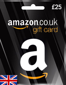 amazon uk gbp25 gift card