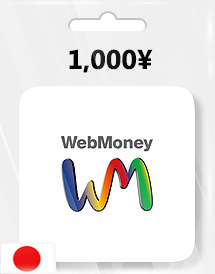 1,000yen webmoney gift card jp