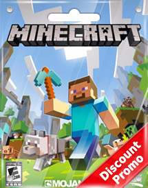 usd26.95 minecraft game card global discount promo
