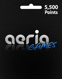 aeria games 5,500 points