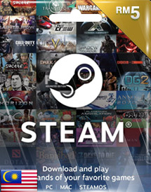 steam wallet code rm5 my