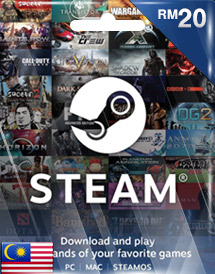 steam wallet code rm20 my