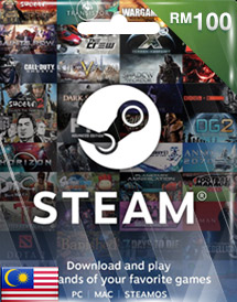 steam wallet code rm100 my