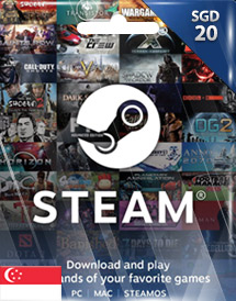 steam wallet code sgd20 sg