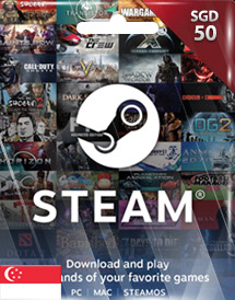 steam wallet code sgd50 sg