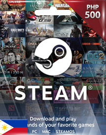 steam wallet code php500 ph