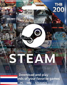 steam wallet code thb200 th