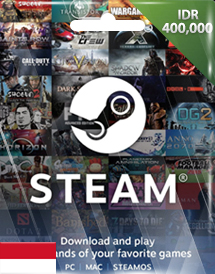 steam wallet code idr400,000 id