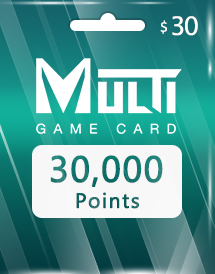 multi game card 30,000 points global