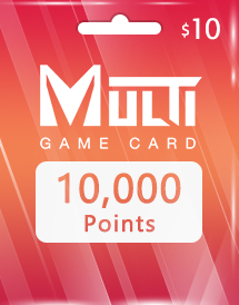 multi game card 10,000 points global