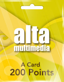 a card 200 points