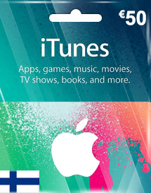 itunes finland eur50 gift card