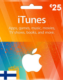 itunes finland eur25 gift card