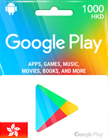 google play hkd1,000 gift card hk