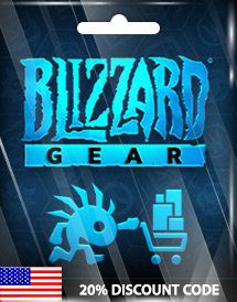 blizzard gear 20% discount code
