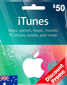itunes au aud50 gift card