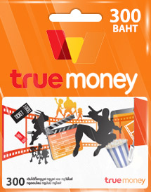 truemoney 300 thb card