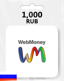 webmoney 1,000rub gift card ru