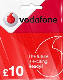 Cheap Vodafone Voucher GBP10 (UK) - OffGamers Online Game Store