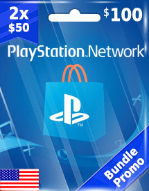 2x usd50 psn card us bundle promo