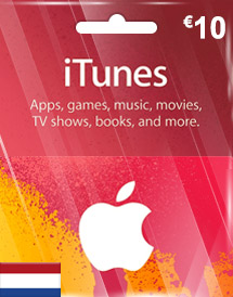 itunes eur10 gift card nl