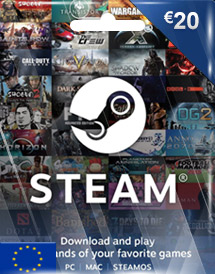 steam wallet code eur20 eu