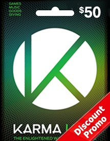 usd50 karma koin card global discount promo