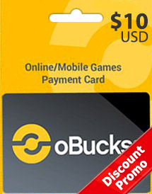 obucks card usd10 discount promo