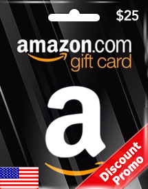 $25 amazon gift card us discount promo
