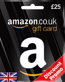 gbp25 amazon gift card uk discount promo