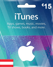 eur15 itunes gift card at