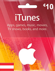 eur10 itunes gift card at