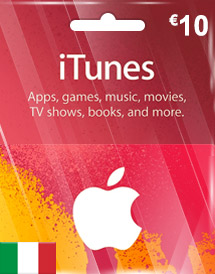 eur10 itunes gift card it