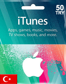 itunes tl50 gift card tr