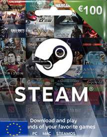 steam wallet code eur100 eu