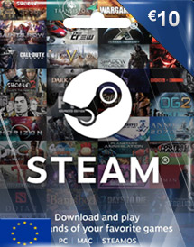 steam wallet code eur10 eu