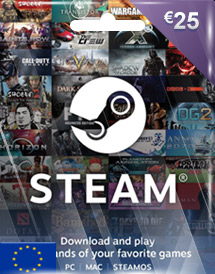 steam wallet code eur25 eu